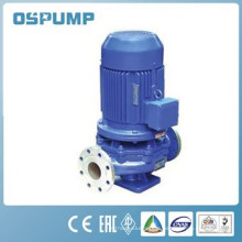 Application in a vertical pipe pump electric factory conveying hot water