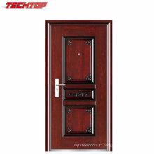 TPS-051 Façade De Luxe Extérieur Appartement Sécurité En Acier Porte Conception