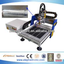 Alta precisión mini metal cnc fresadora en venta