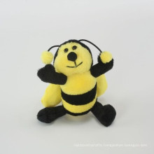 customized OEM design realistic plush bee toys