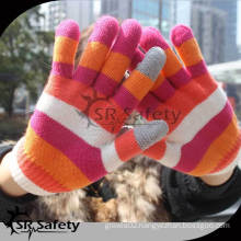 SRSAFETY Fashion magic knitted glove for smartphone/touch magic gloves