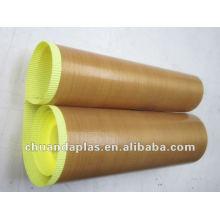 Односторонняя покрытая PTFE стекловолоконная ткань с сертификатом RoHS