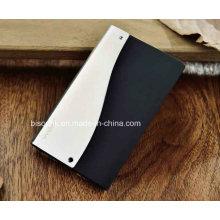 Metall & Plastik Visitenkartenhalter, Ultrathin Visitenkartenhalter