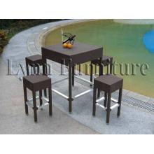 Bar Chair and Table Set (LN-065)