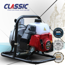 CLASSIC CHINA 1 Zoll 25mm Mini Benzin Wasserpumpe, 2 Stroke 1 Pferdestärken Wasserpumpe Benzin