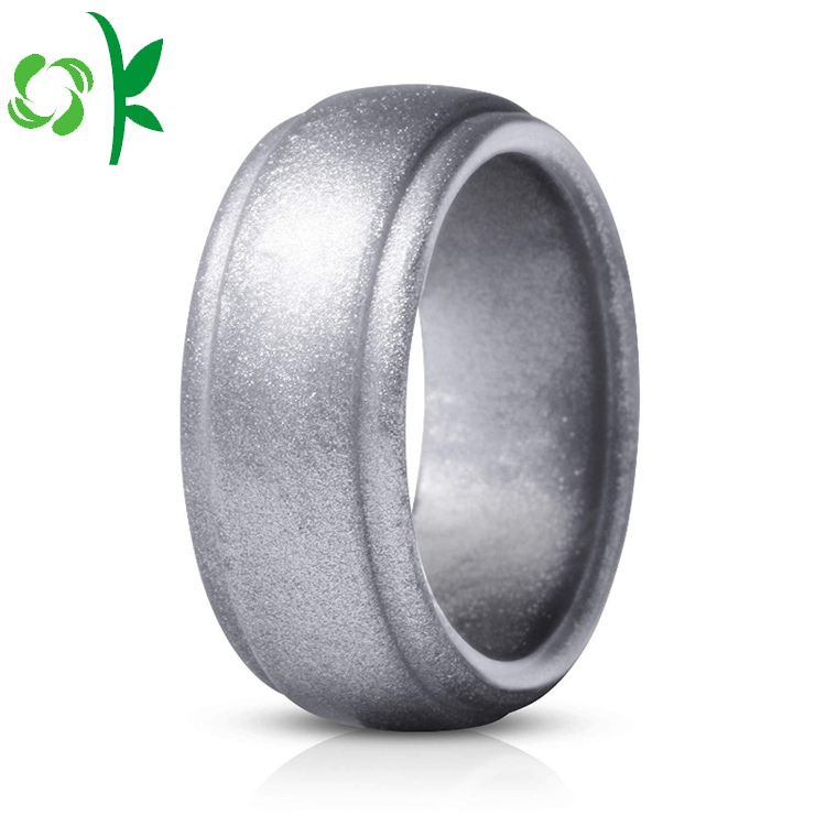Silver Powder Ring