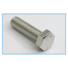 DIN961 Stainless Steel Full Threaded Fine Pitch Threa Hex Bolt