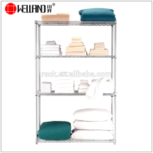 New Style Adjustable Metal Wire Pillow Display Rack Shelf, NSF Approval