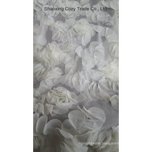 Handwork Flower Pieces Laser Embroidery Fabric