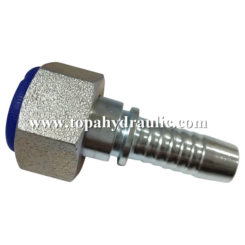 Metric reusable fittings universal hose connector