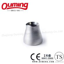 Réducteur concentrique à soudure bout à bout en acier inoxydable (BW)