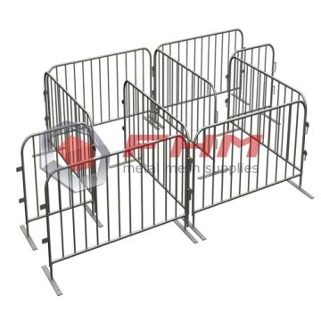 Interlocking Steel Barricade for Crowd Control