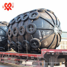 Made in China high quality of inflatable rubber fender used to ship to ship or dock