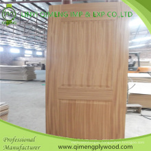 Thickenss 3.2mm HDF Base Moulded Door Skin with Cheaper Price