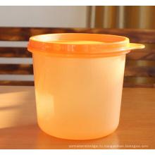 Малый размер 0,65 Л пластиковых хранения Jar