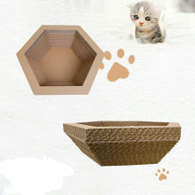 Hexagonal Paper Cat هرش السرير صالة