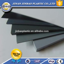Material de construção 5mm 8mm hard pvc sheet white plastic sheeting