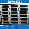 JIS Standard Hot Rolled Mild Structural Steel U Channel