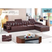 New Fashion Modern Classic Color Leather Sofa