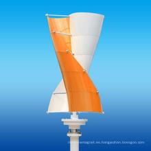 Aerogenerador en espiral (eje vertical)