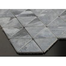 Mosaico de cemento utilizado para la decoración de paredes exteriores de casas