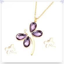 Accessoires de mode Ensemble de bijoux en acier inoxydable (JS0081)