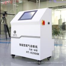 Analisador de gases de escape de veículos para motor diesel a gasolina