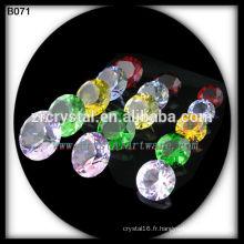 diamant en cristal strass cristal coloré
