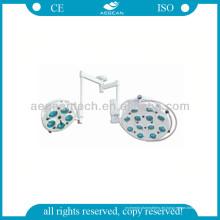 AG-Lt012 mit zwei Lampenfassungen ISO & Ce Shadowless LED-Lampe