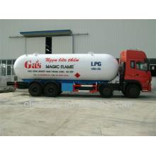 34.5m3 Dongfeng Tianlong 8 * 4 LPG автоцистерна