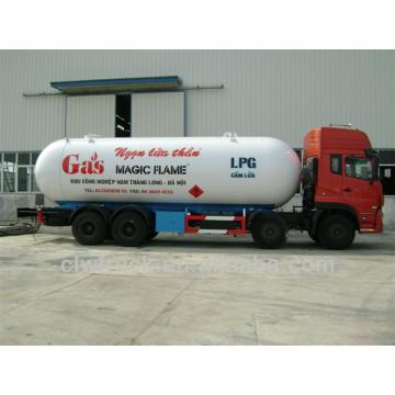 34.5m3 Dongfeng Tianlong 8 * 4 camión cisterna de gas LP