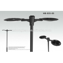 best price!!high quality high lumen newest design outdoor garden lighting double lamp arm ul driver 60W LED Garden Light
