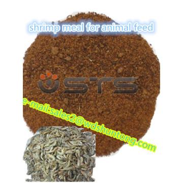 Repas de crevette de poudre de protéine de haute qualité pour la volaille