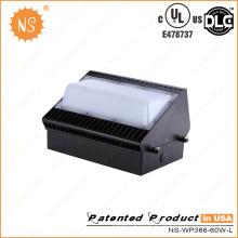 UL Dlc 60W Wall Pack светодиодное наружное освещение