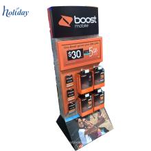 Pop-Papier-Display-Ständer mit Kunststoff-Haken, Display-Haken mit hängenden Handtuch