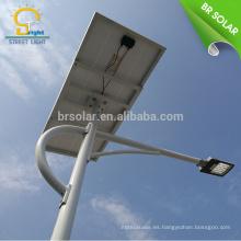 luz de calle llevada híbrida solar y del viento lámpara de calle híbrida del viento y solar de la calle 10w 120w