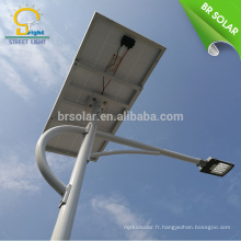 le solaire et le vent hybride a mené le réverbère 10w 120w le vent et le réverbère hybride solaire