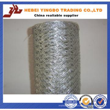 1/4 мелкоячеистая сетка Покрынная PVC Шестиугольная Ячеистая сеть