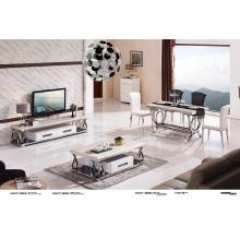 Home Furniture Table à café en marbre Whiite en marbre