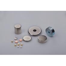 Disc Magnet mit verschiedenen Beschichtungen
