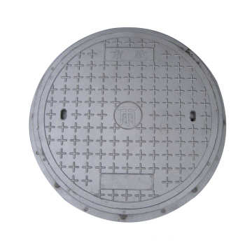 En124 Skru / Komposit Resin Pusingan Manhole Cover