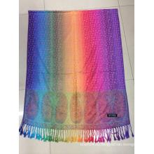 Красочный дизайн леопарда вискоза пашмины Шарф платок Wrap