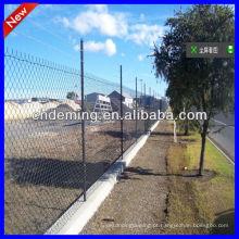 Galvanizado quente Chain Link Fence para quadras esportivas