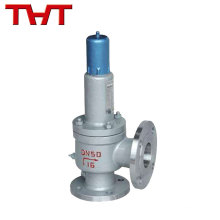 Spring loaded flanged safety valve