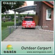 Modern Polycarbonate covering carport canopy