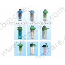 Reusable Oxygen Humidifiers for Oxygen Regulators