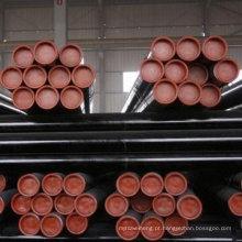 Tubo de aço ASTM A252 50mm