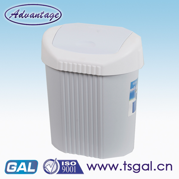 Outdoor wave lid dustbin