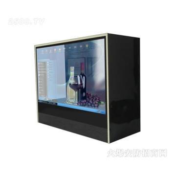 21,5-дюймовый сенсорный прозрачный ЖК-дисплей для рекламы