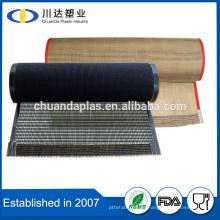 Pantalla de tamaño personalizado Pantalla de malla de malla de alambre cinta transportadora
